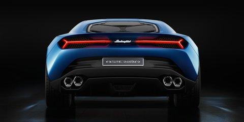 Lamborghini Asterion LPI 910-4 plug-in hybrid concept supercar revealed