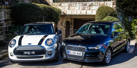 Audi A1 v Mini Cooper : Comparison review
