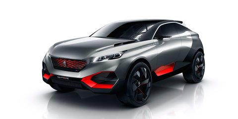 2017 Peugeot 3008 appears in factory spy video
