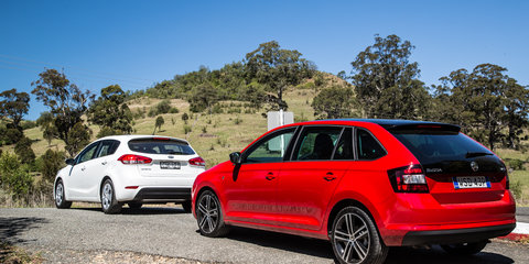 Skoda Rapid v Kia Cerato : Comparison review