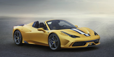 Ferrari 458 Speciale A limited edition convertible unveiled