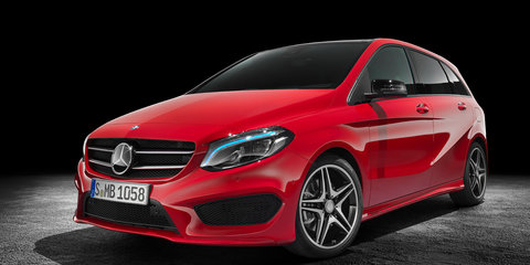 2015 Mercedes-Benz B-Class facelift revealed