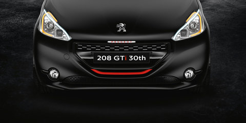 Peugeot 208 GTi 30th Anniversary Special Edition coming to Australia