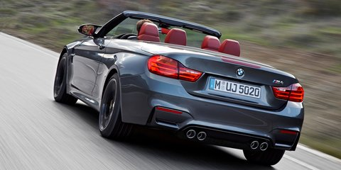 BMW M4 Convertible : 4.4sec twin-turbo drop-top lobs from $178,430