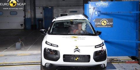 Euro NCAP: Citroen C4 Cactus scores four stars; Mercedes-Benz V-Class and Nissan X-Trail achieve five