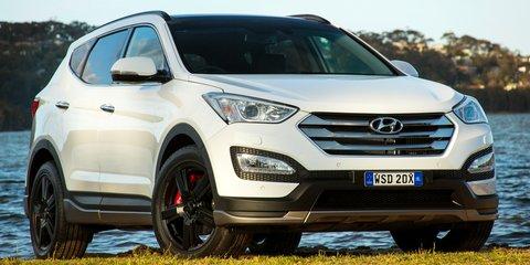 2015 Hyundai Santa Fe SR pricing and specifications
