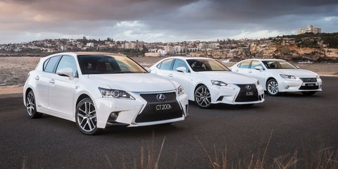 Lexus CT, IS, ES refreshed: safety, specification and price increases headline update