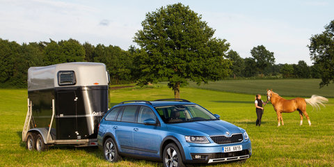 Skoda Octavia Scout : Czech crossover arrives in April 2015 with first-time petrol option
