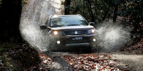 Suzuki Grand Vitara line-up reduced as part of 2015 update