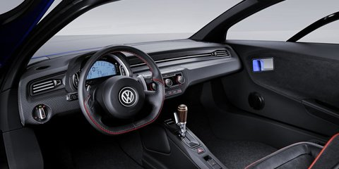 Volkswagen XL2 Sport: Ducati-powered VW coupe concept intrigues in Paris