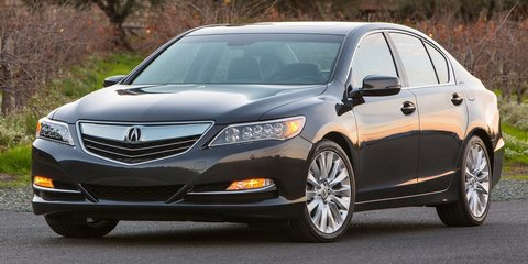Honda Legend to feature world-first emergency steering system to avoid pedestrians