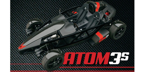 Ariel Atom 3S sports turbocharged 272kW 2.4-litre Honda motor