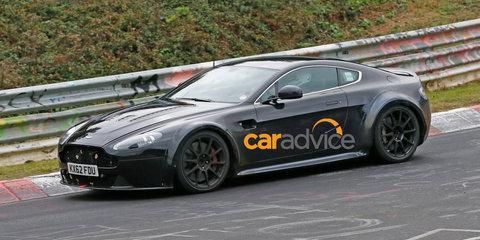 Aston Martin V12 Vantage S : Hardcore track special spied