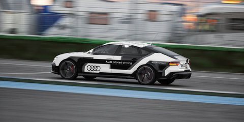 Audi RS7 Piloted Driving Concept Car technology detailed