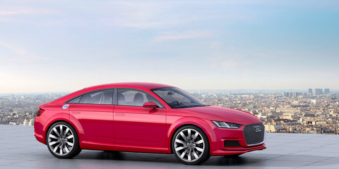 Audi TT Sportback concept: final decision on expanded TT family just weeks away