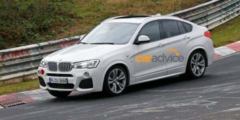 2015 BMW X4 M40i : Flagship performance crossover spied undisguised