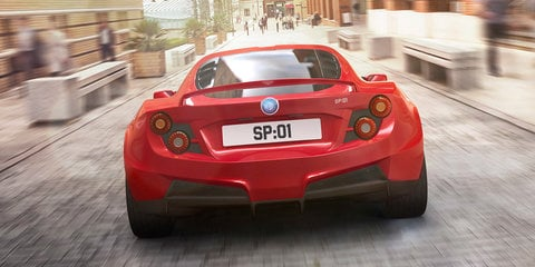 Detroit Electric SP:01 design updated prior to production with fastback rear