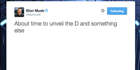 "Tesla Model D : Elon Musk wants to show you his ""D"""
