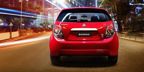 Holden Barina Trio : Bonus features for base city car