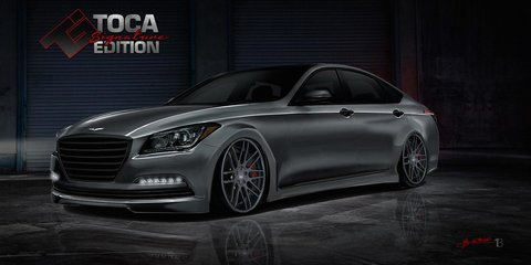 Hyundai Genesis Steel Phoenix : 447kW twin-turbo V8 sedan headed for SEMA