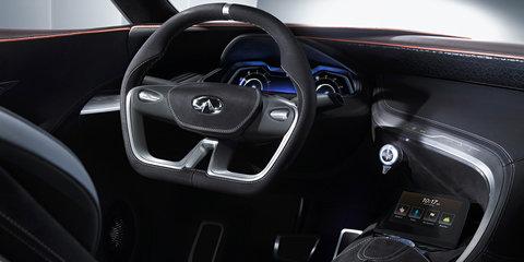 Infiniti Q80 Inspiration revealed in full with 410kW hybrid drivetrain