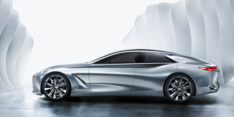 Infiniti to show large sedan concept in Detroit - report