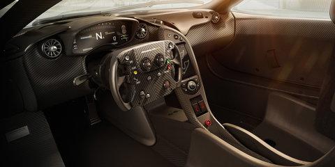 McLaren P1 GTR interior unveiled, driver programme detailed