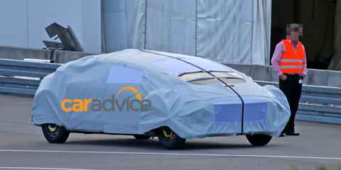Mysterious Mercedes-Benz concept spied