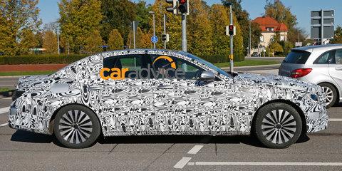 2016 Mercedes-Benz E-Class : Next-gen spied, set to debut advanced engine tech