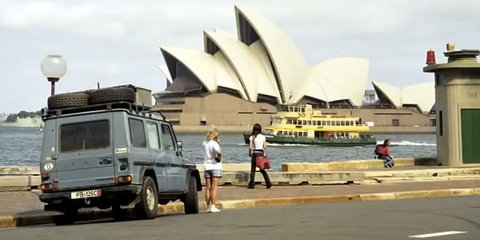 Gunther Holtorf completes 884,000km world tour in a Mercedes-Benz G-Wagen