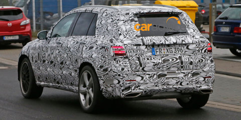 Mercedes-Benz GLC-Class sports variant spied