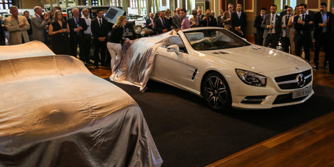 Mercedes-Benz S-Class Coupe makes Australian premiere
