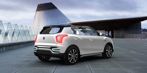 Ssangyong X100 confirmed for Australia : Baby SUV previewed by XIV-Adventure and XIV-Air concepts