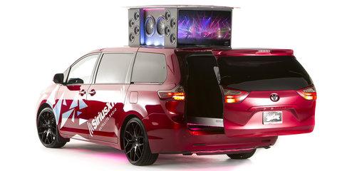 Toyota Yaris DUB Edition, Sienna:Remix, Baja 1000 support trucks heading to SEMA