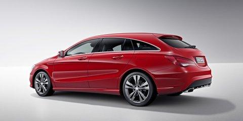Mercedes-Benz CLA Shooting Brake revealed