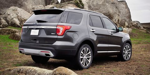 2016 Ford Explorer : New look, new technology for updated large SUV