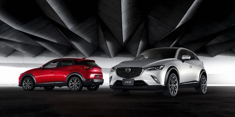 Mazda CX-3 images surface