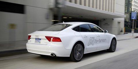 Audi A7 h-tron quattro concept revealed at 2014 Los Angeles auto show