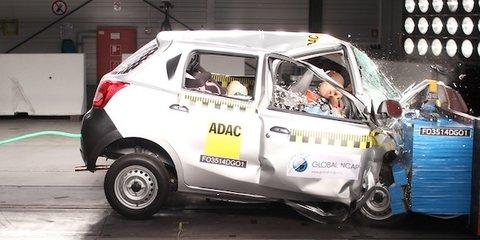Datsun Go, Maruti Suzuki Swift score zero stars in global NCAP crash tests
