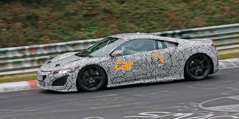 2015 Honda NSX returns to the Nurburgring
