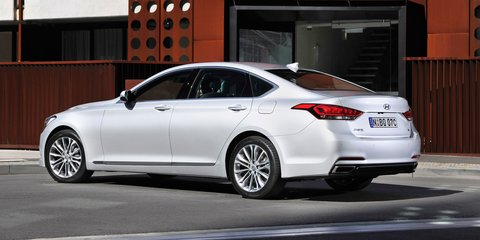 Hyundai Genesis : Korea's E-Class rival launches from $60,000