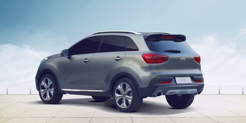 Kia KX3 baby SUV outed in China