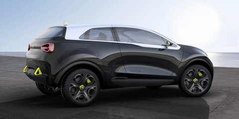 Kia's sub-compact SUV in the works