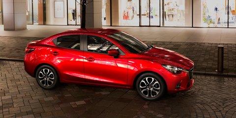 Mazda 2 sedan revealed, no sure thing for Australia