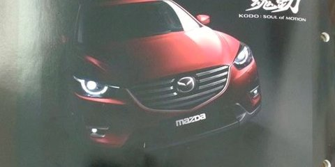 2015 Mazda CX-5 images leak ahead of LA debut