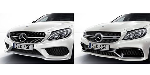 Mercedes-AMG Sport models teased ahead of 2015 Detroit auto show