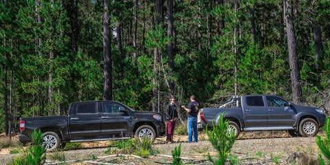 Toyota HiLux v Toyota Tundra : Comparison review
