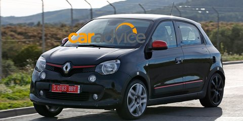 """Renault Twingo RS : possible performance variant spied, Australian head """"keen"""""""