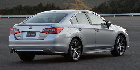 2015 Subaru Liberty gets standard EyeSight active safety