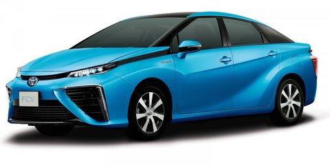 Toyota Mirai fuel-cell car to be launched in Japan this week